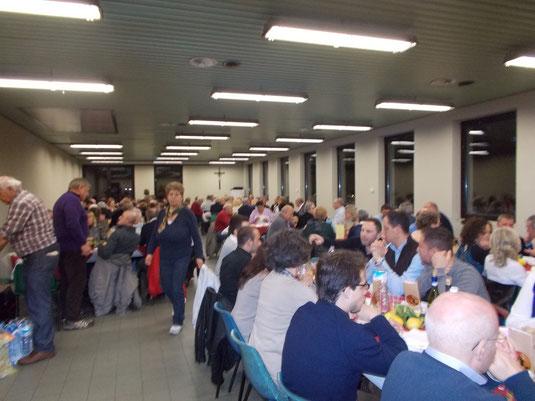 cena lazio 24/03/2013