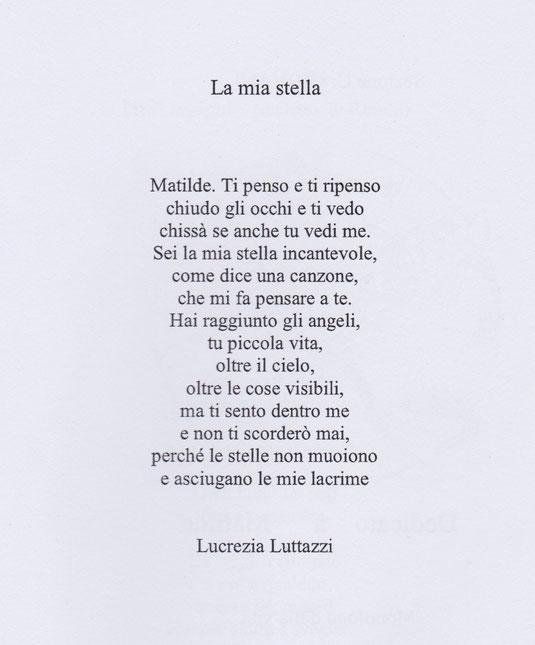 La mia stella - Lucrezia Luttazzi -