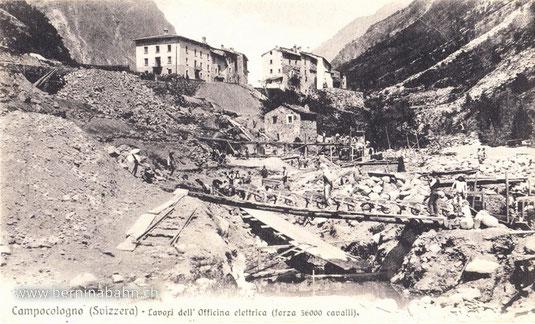 700-011 (kein Verlag, vermutlich U. Trinca), Karte gelaufen am 5.10.1905