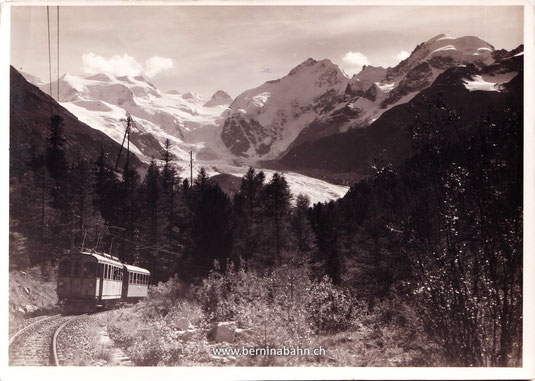 218-014 Verlag Schär-Zogg, Pontresina. Karte gelaufen 20.7.1935