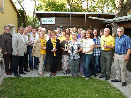 Die Pokalgewinner der Amateurmeisterschaft 2012