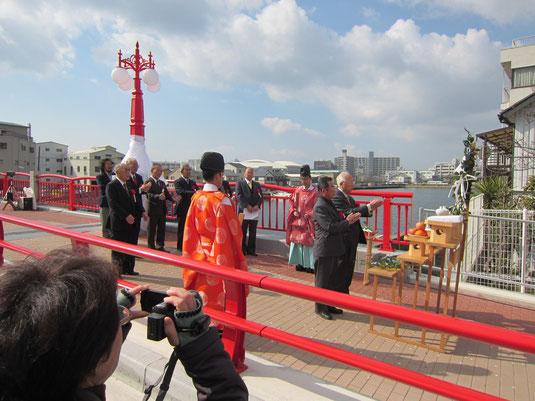 新川橋架替祝賀式の写真3