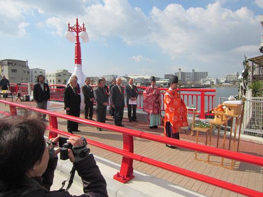 新川橋架替祝賀式の写真2