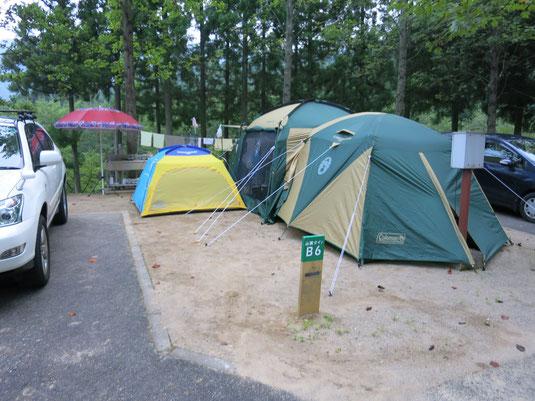 湯の原温泉オートキャンプ場の写真