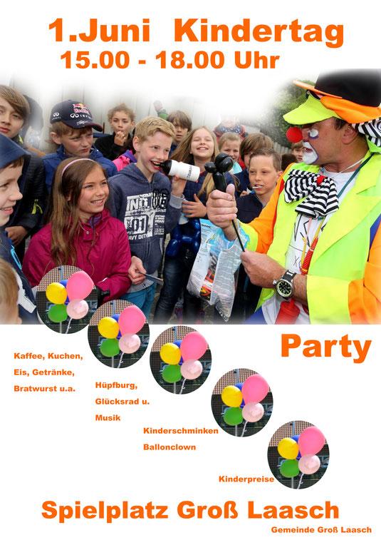 Eine große Vielfalt an Aktionen erwarten euch bei unserem Kinderfest. Beginn: 15:00 Uhr auf dem Spielplatz  Was wird geboten?  Hüpfburg, Ballonclown I.O., Kinderdisco, Kinderschminken, Zuckerwatte u.v.m.  Sagt es weiter, kommt vorbei und habt Spaß!