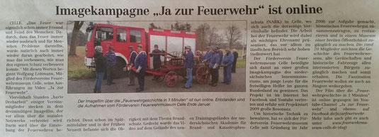 aus: Cellesche Zeitung vom 14.02.2015