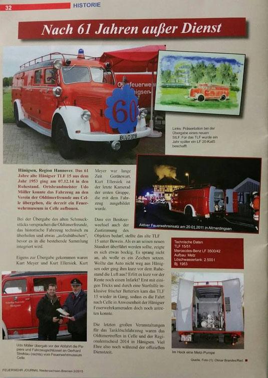 aus: Feuerwehrjournal (2/15, S. 32)