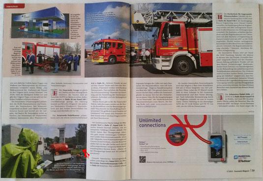 aus: Feuerwehrmagazin Mai 2015, S. 38f.