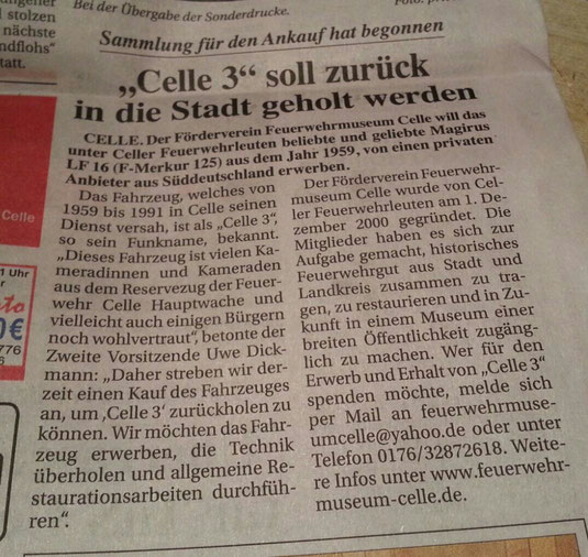 Quelle: Celler Kurier 21.10.2015
