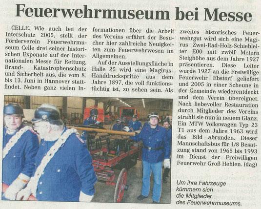 aus: Cellesche Zeitung vom 28.04.2015