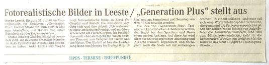 Weser Kurier 30.05.2015