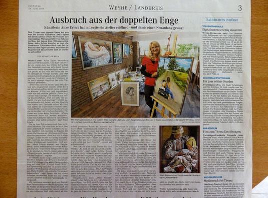 Weser Kurier Juni 2014