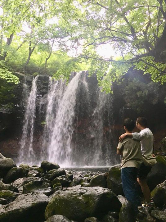 カミナリのチャリ旅・乙女の滝