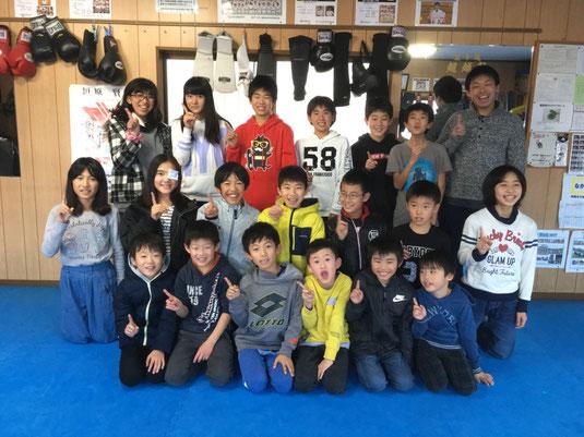 空手 キックボクシング 埼玉県 蓮田 東大宮 クリスマス会
