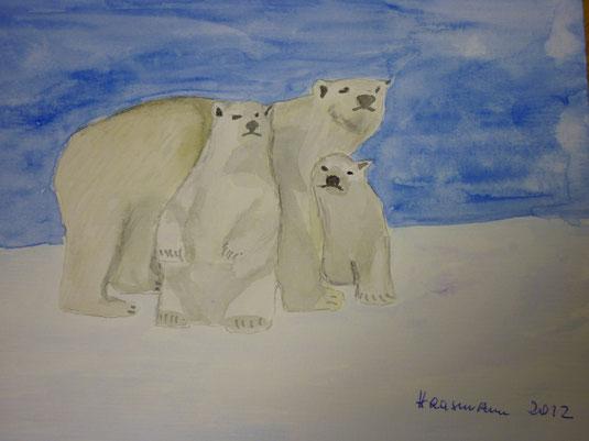 Eisbärenfamilie  2012