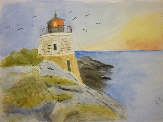 Leuchtturm nach Vorlage Sept. 2013