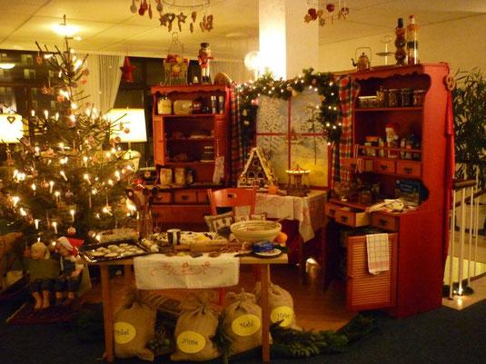 Weihnachtsinsel 2012 in der Rosenhofhalle - Thema: Weihnachtsbäckerei