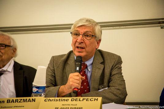 John Barzman professeur d'histoire à l'université du Havre