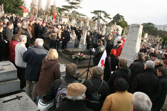 Hommages à Jules Durand pour le centenaire de sa condamnation à mort. 25/10/2010