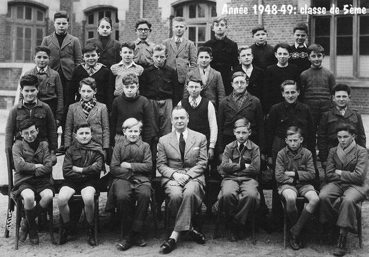 photo de classe Laon 1949 -5