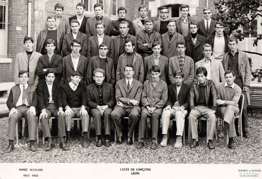 photo de classe Laon 1968 -Term A