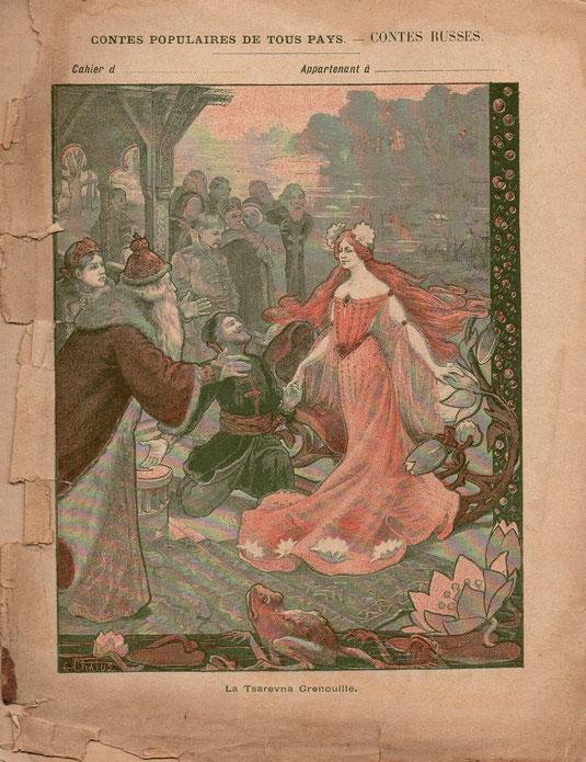 Cahier de composition française 1898