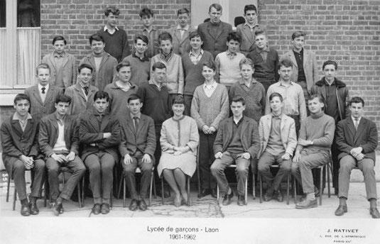 photo de classe Laon 1962 3M3