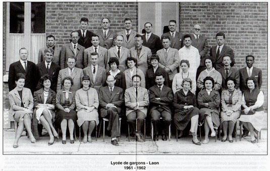 Laon 1962 les profs