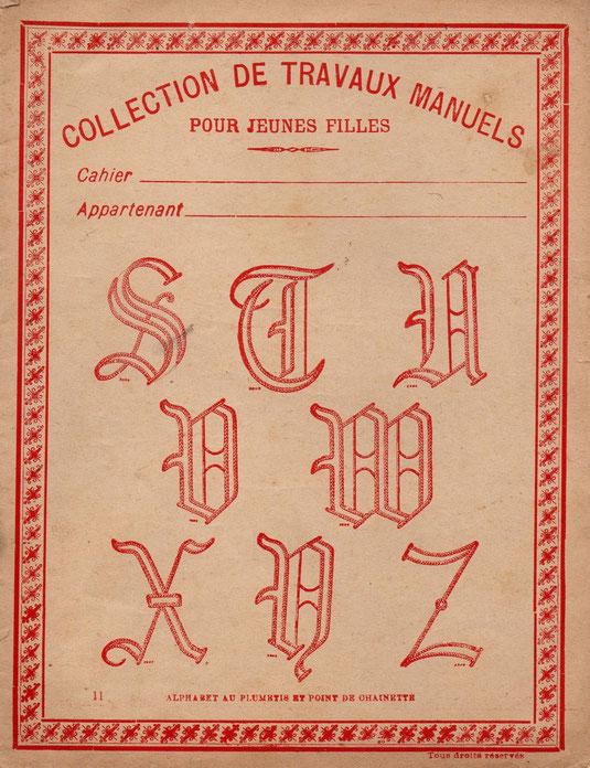 Travaux Manuels 1903