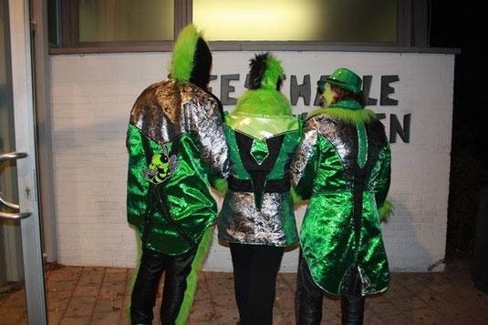 Kostüme für Guggenmusik aus Bietigheim...