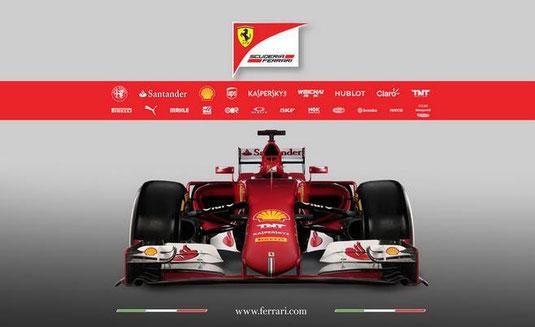 La Ferrari 2015 . SF15-T