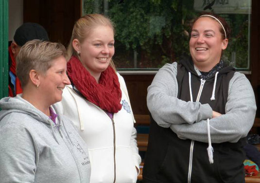Birgit, Lea und Daniela gewannen Silber (Foto: Ulli Brülls)