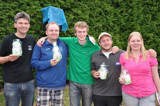 Sieger und Ausrichter nach dem Max & Moritz-Cup