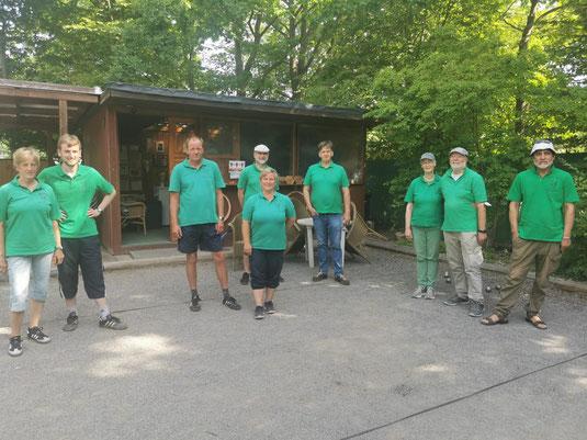 Ein Blick auf die ersten Busch-Bouler in der Niedersachsenliga