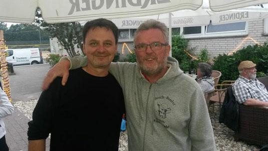 Zwei von drei DM-Fahrern: Frank & Klaus. Jürgen verpasste den Fototermin