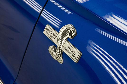 La Shelby Super Snake 2017 dévoilé à une vente aux enchères à Scottsdale, en Arizona