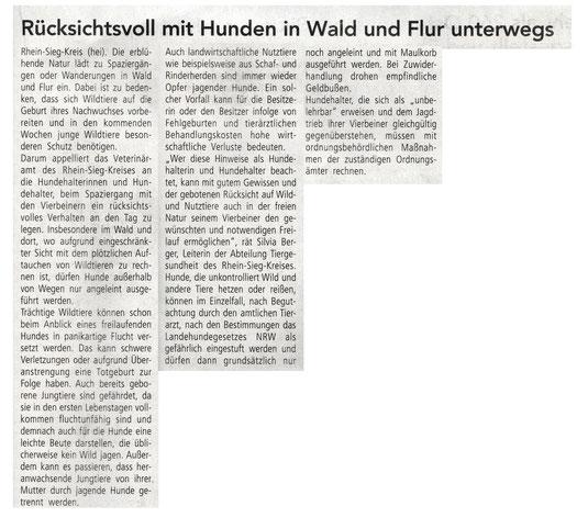 Quelle: Mitteilungsblatt Eitorf 09. April 2021