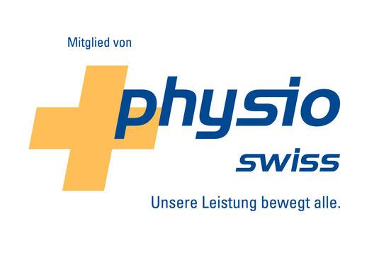 Wir sind natürlich Mitglied bei Physioswiss