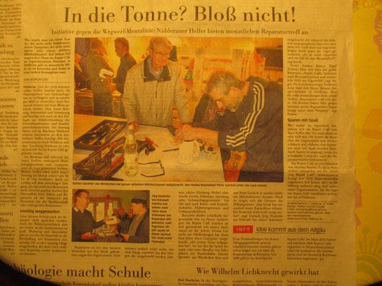 Frankfurter Neue Presse, 7. November 2016