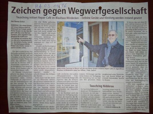 Hanauer Anzeiger, 03. November 2016