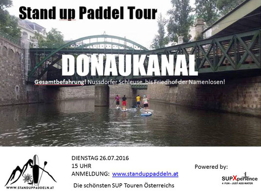 sup wachau, sup tour, suptour, sup donau, sup donaukanal. sup marchfeld, sup auen