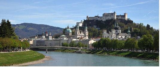 Salzburg, Sup in Salzburg, Sup Tour, Salzach