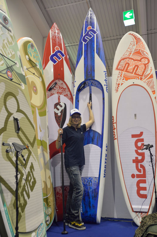 sup, standuppaddeln, standuppaddling, austrianboatshow, Boatshow Tull, Sport-Vibrations Mistral, Mistral, Vortex