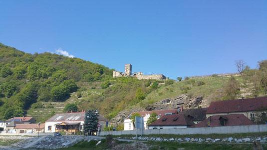 Wachau, Suptour, sup, standuppaddeln, Aggsbach Markt, Oberloiben, Donau