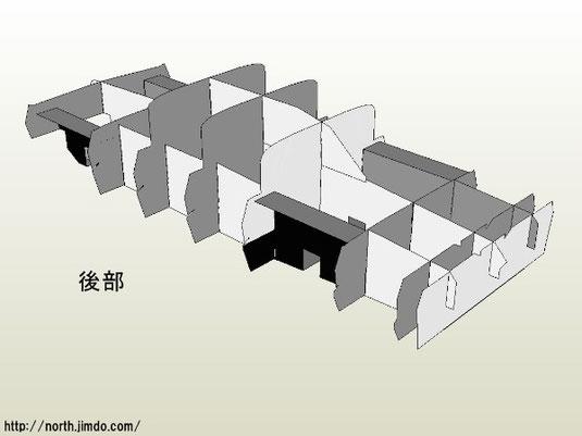 部品①-c、①-d、⑬はこの後の組立てで使用します。