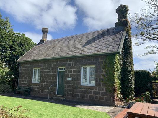 Portland Botanic Gardens - stone cottage