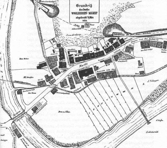 Grosser Brand Wolhuser Markt 1876