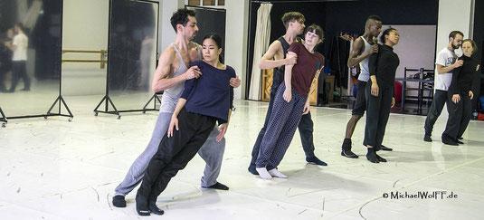 weitere Fotos von Ballettproben unter Foto Galerien