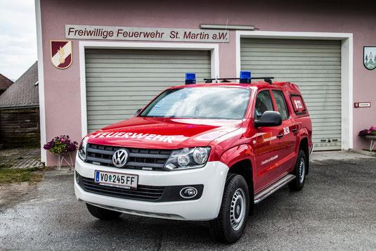 VW Amarok Feuerwehr St. Martin a.W.