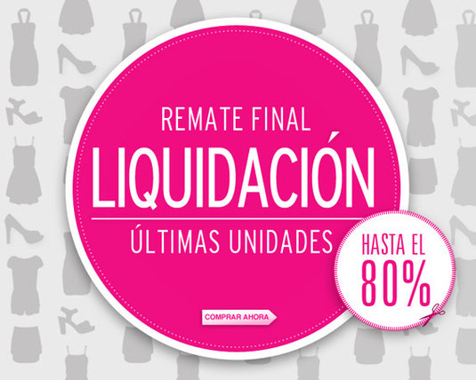Remate final rebajas DeDulce Boutique Infantil